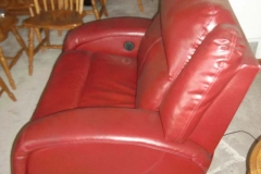 leather chair - before