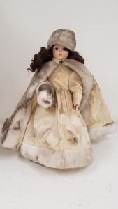 Winter Porcelain Doll
